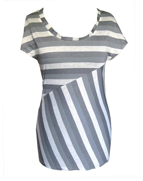 Gray Stripes Shirt