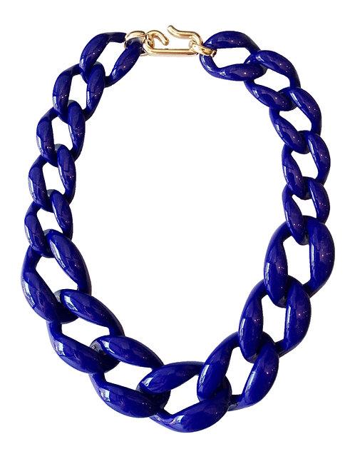 שרשרת חוליות כחולה