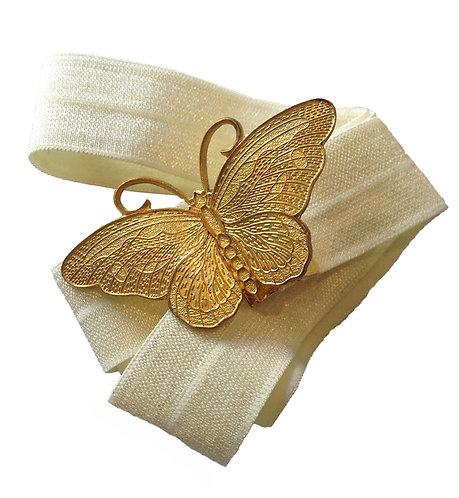 חגורת פרפר זהב