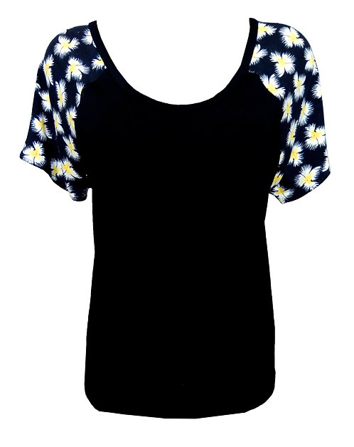 Sunflowers Raglan Shirt