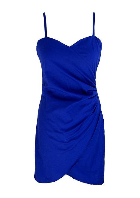 שמלת מעטפה כחולה