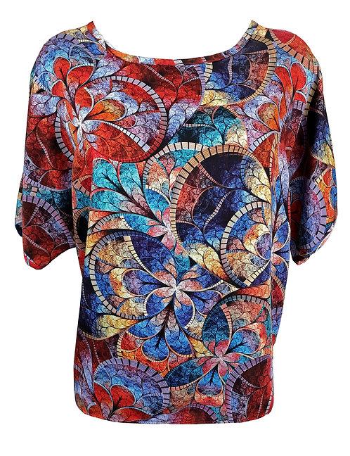 Oriental Oversized Shirt