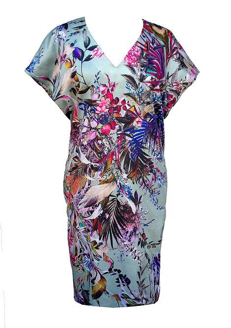 Cotton Floral Dress