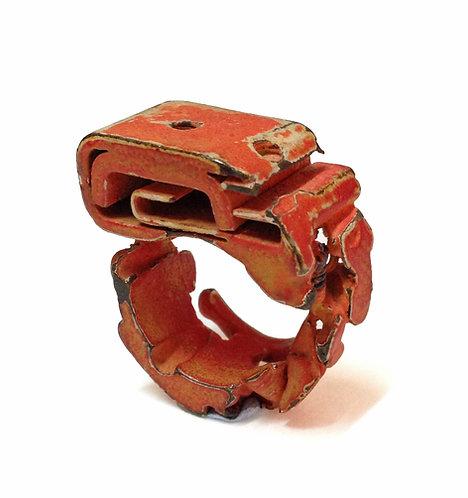 טבעת סמפל אדומה