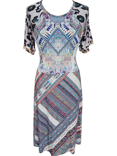 Mix Prints Dress