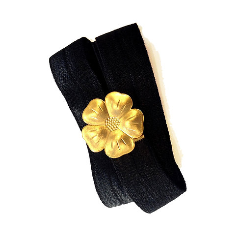 Gold Flower Belt