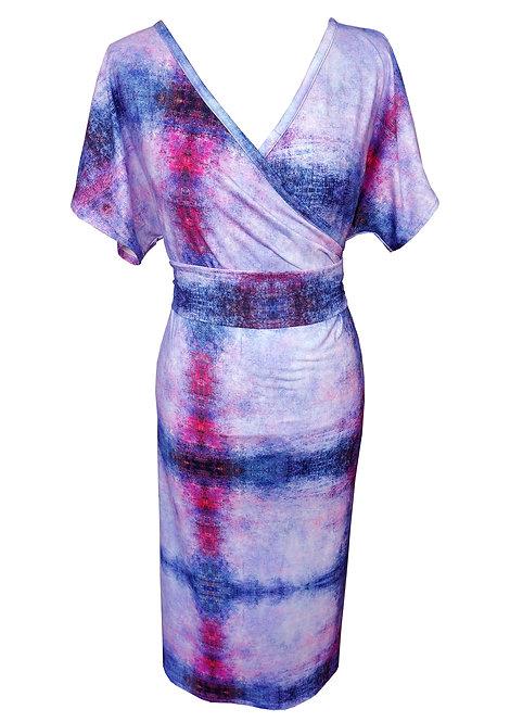 שמלת קימונו מג'נטה