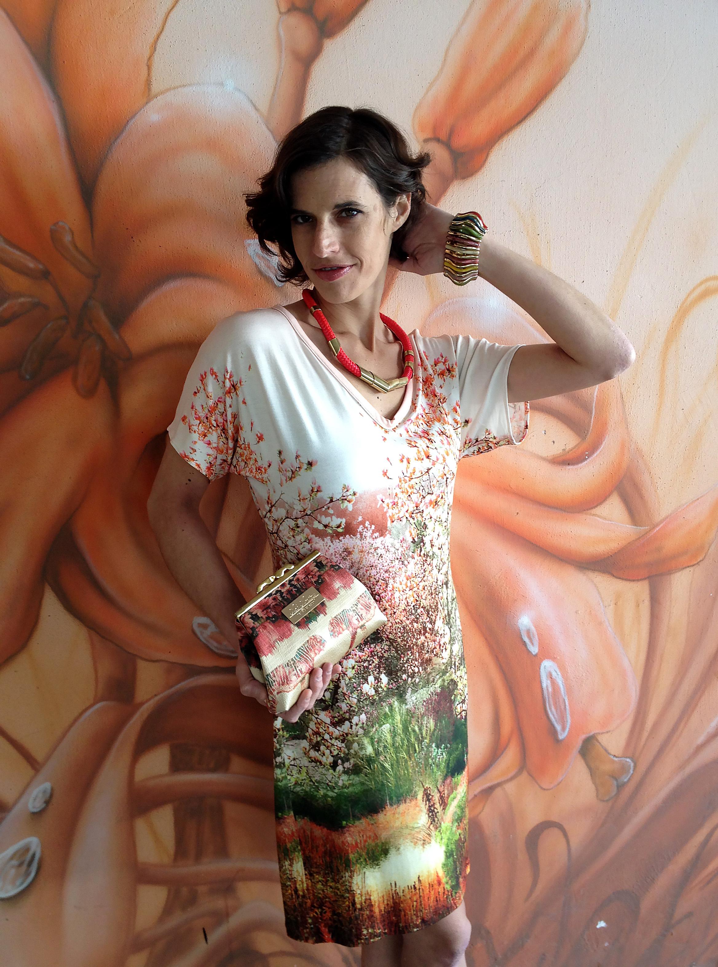 שמלת מניפה גן-יפני