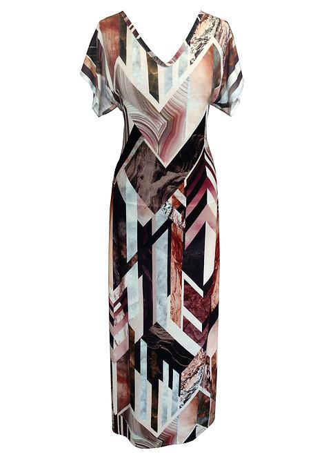 Marbel V Maxi Dress