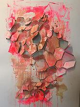 geometric paper cut YUPO