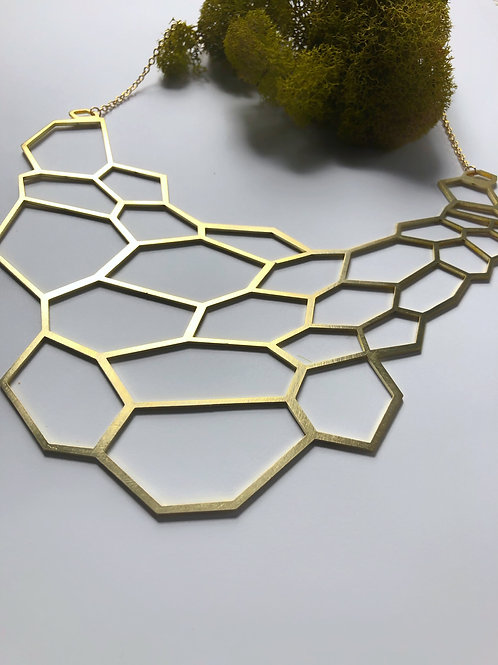 Hivenly Bib Necklace Open Design