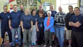British Airways Staff in the Community