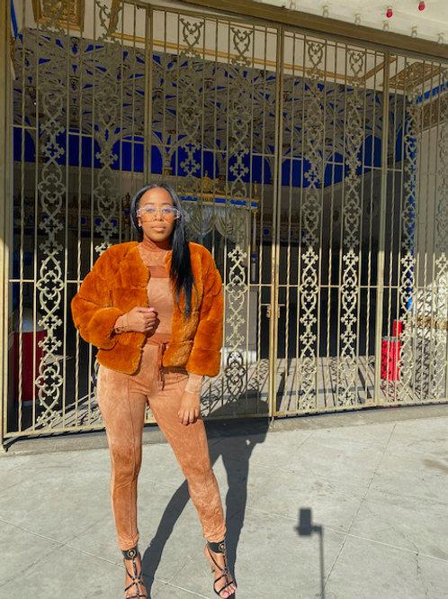 Brown Sugar Faux Fur
