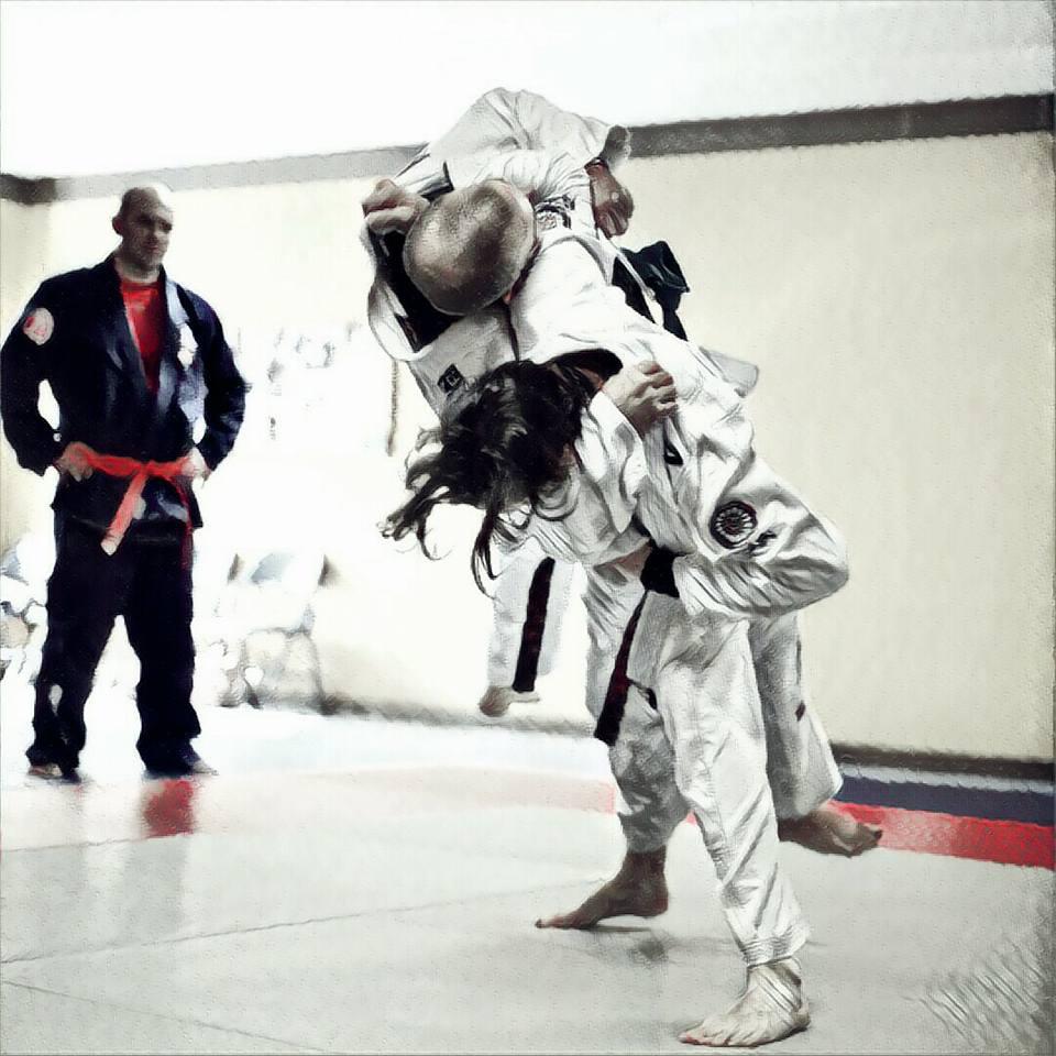 osoto otoshi - Impact imminent 1
