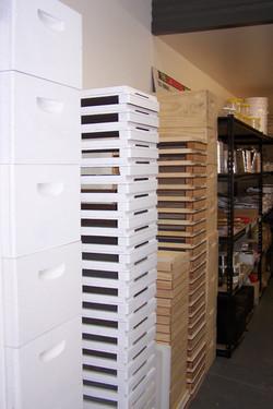 Boxes, lids, bottoms