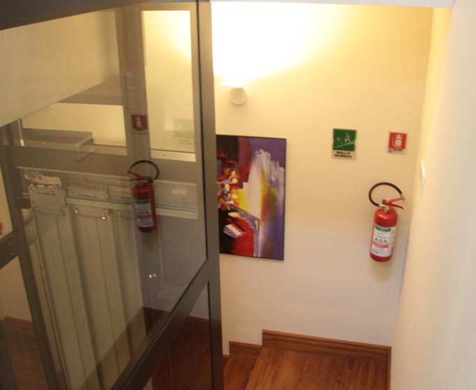Ponticello Apartments_Vano ascensore