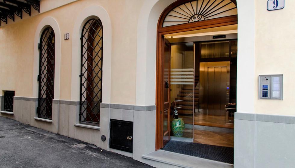 Ponticello Apartments_Ingresso esterno