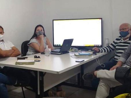 Renato Brandão participa  de reunião para tratar sobre o Portal Semaurb