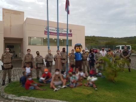 Ronda Maria da Penha inaugura cantinho literário em Jequié