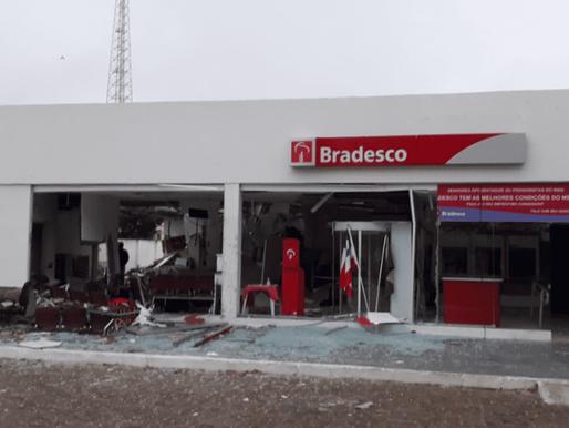 Explosão de agência do Bradesco em Chorrochó é 40º ataque a bancos na Bahia em 2021