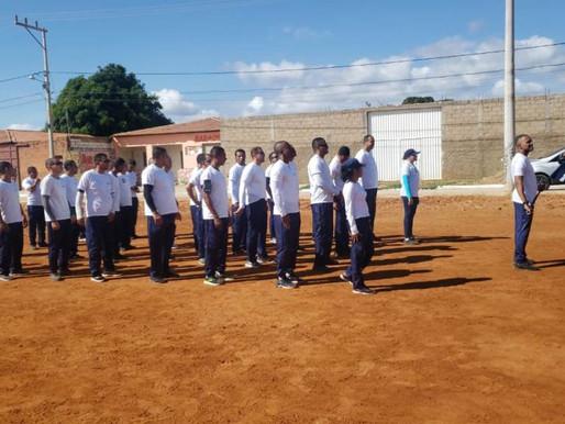 Guarda Municipal de Sento Sé chega à fase final de formação.