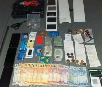 Quinteto suspeito de furtos a caixas eletrônicos é interceptado