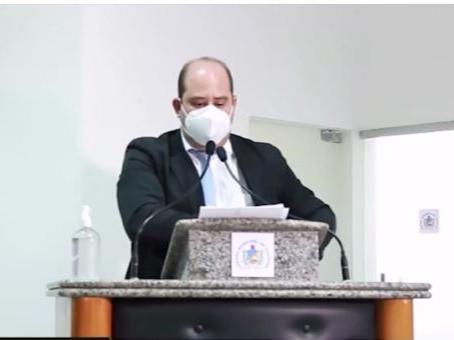 Em mais uma sessão ordinária remota Renato Brandão comenta sobre suas indicações