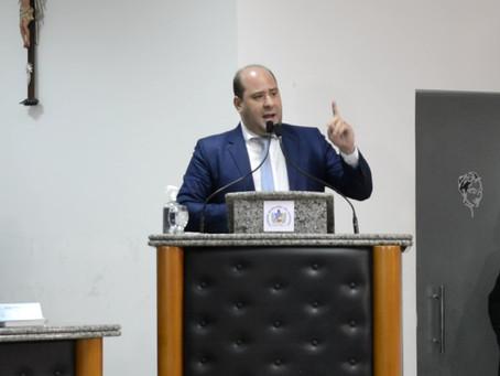 Renato Brandão é o primeiro a apresentar projeto de lei na Câmara Municipal de Juazeiro