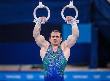 Arthur Zanetti erra saída e fica sem medalha nas argolas em Tóquio; chinês é ouro