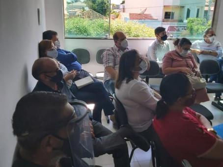 Renato Brandão participa de encontro no Instituto de Previdência de Juazeiro