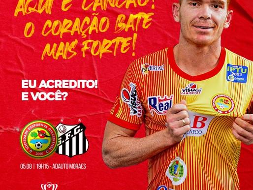 Com campanha #EuAcredito, Juazeirense engaja torcedores para uma virada histórica na Copa do Brasil