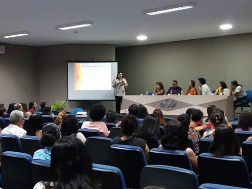 Secretária da Saúde de Juazeiro participa de seminário da rede PE BA.