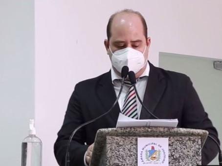 Renato Brandão comenta sobre indicações em  sessão ordinária remota