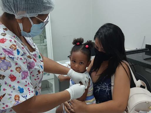 Juazeiro promove Campanha de Multivacinação para crianças e adolescentes de até 15 anos