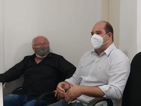 Renato Brandão participa de reunião na Semaurb para tratar sobre a valorização da construção civil