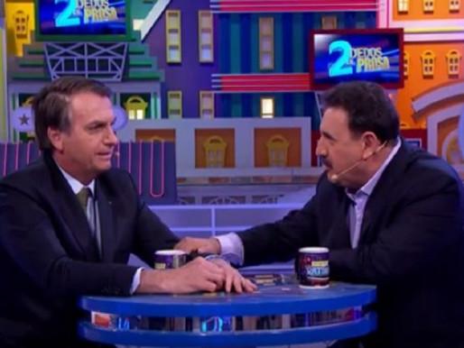 """""""A bola está com o parlamento agora"""", diz Bolsonaro sobre a Reforma da Previdência."""