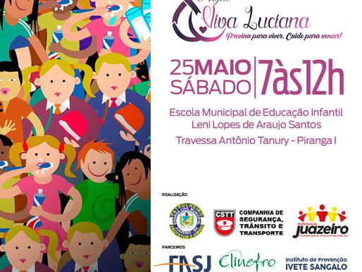 Guarda Municipal de Juazeiro lança projeto 'Viva Luciana' neste sábado (25).