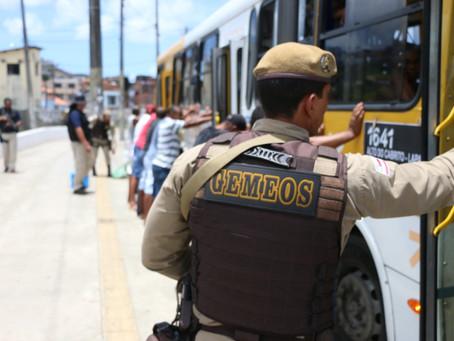 Oito assaltantes de ônibus presos em seis dias na capital