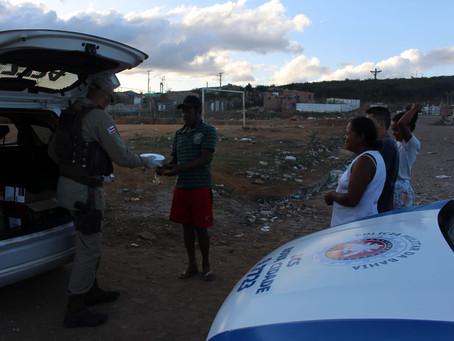 Marmitas entregues para 148 famílias em Vitória da Conquista