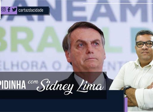 """""""Rapidinha"""" com Sidney Lima: Paulo Bomfim ofende o Presidente da República"""
