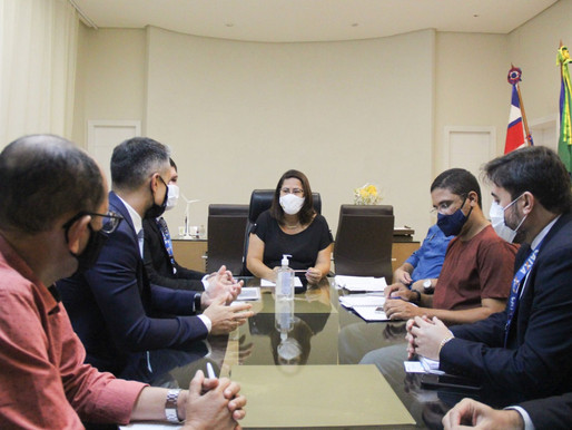 Prefeita Suzana se reúne com representantes da Caixa e discute viabilidade de parcerias entre banco