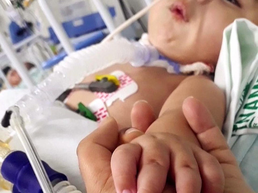 AME tem tratamento e o menino Andrei aguarda a solidariedade das pessoas