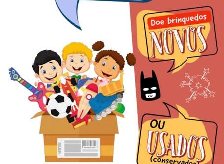 Rondesp Chapada lança campanha de arrecadação de brinquedos
