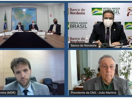 LIVE DE LANÇAMENTO: Programa de Fomento à Agricultura Irrigada no Nordeste irá beneficiar Juazeiro.