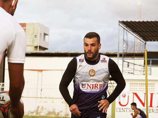 CONTRAÇÃO PARA A TEMPORADA: Centravante Thauan já treina com a equipe da Juazeirense