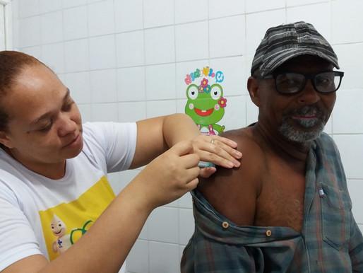 Sesau alerta população para última semana da Campanha Nacional de Vacinação contra Gripe.