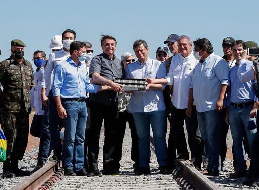 Governo firma acordo com Exército para construção de ferrovia na Bahia
