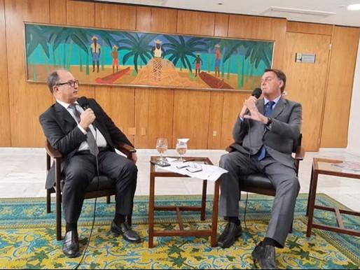 """Bolsonaro responde crítica de Lula e fala de obras no NE: """"Isso indica que estou no caminho certo"""""""