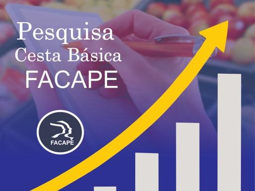 Consumidor muda comportamento com aumento nos preços dos alimentos, aponta Facape