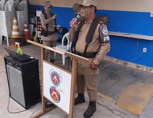 Comandante do CPRN preside reunião de alinhamento com tropa do 74ºCIPM
